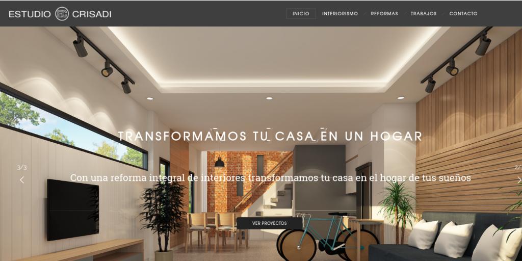diseño web Arganda - empresa construcciones