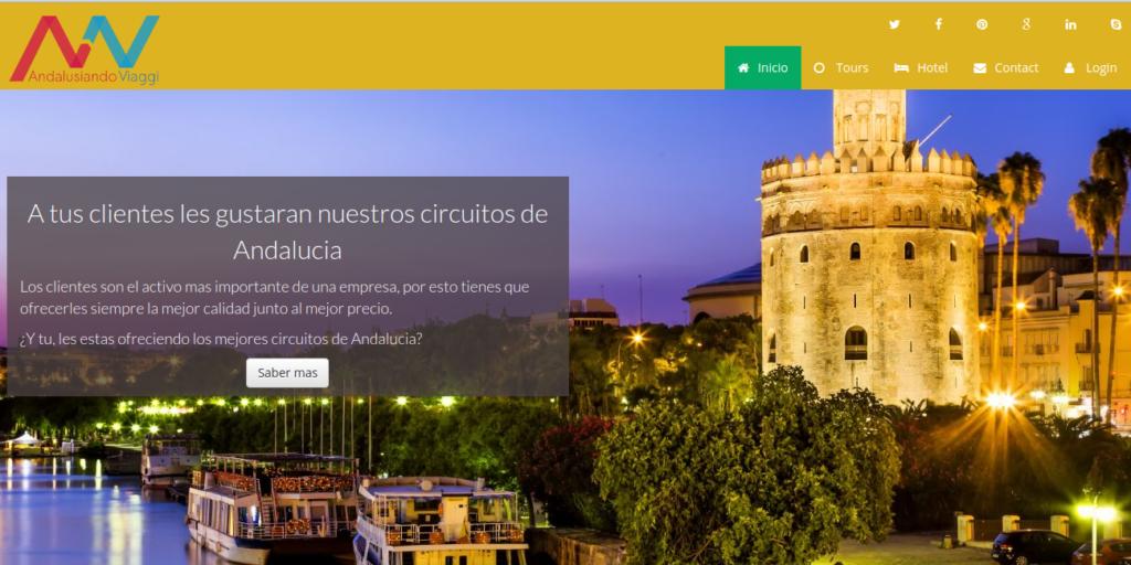 diseño web empresa turismo Andalucia